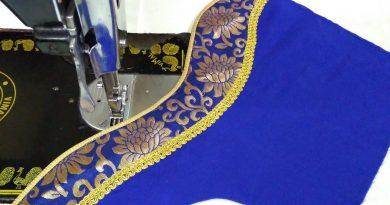 Blouse Designing | Blouse neck design
