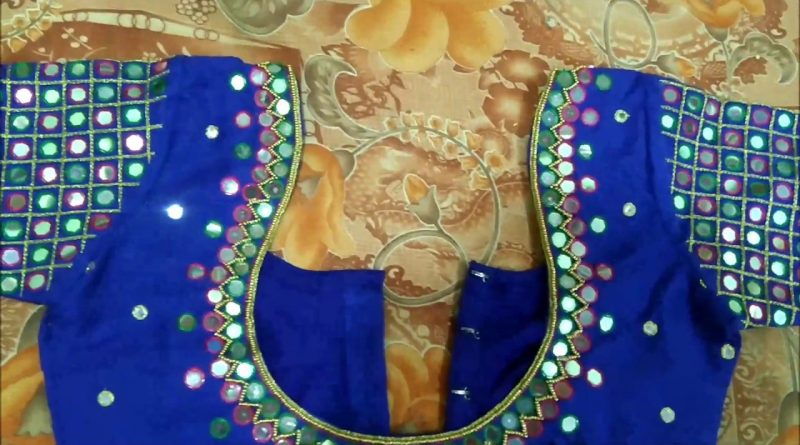 latest blouse designs maggam work