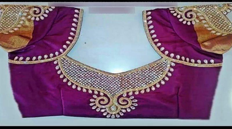 Latest blouse neck designs ll blouse designs