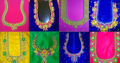 Simple aari work blouse designs – Blouse Designs