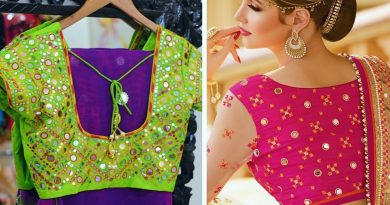 Top 51 Mirror work blouse designs || Party wear mirror work embroidery blouses