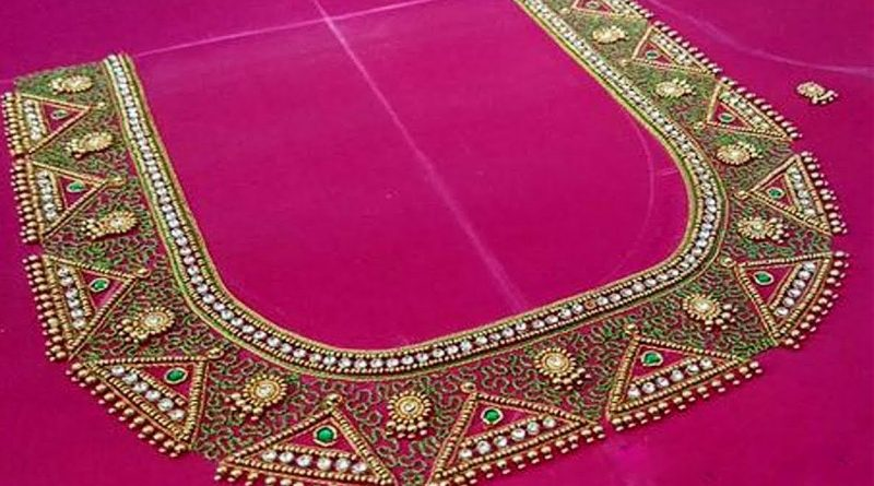 Latest Embroidery Work Blouse Designs For Silk Saree Maggam Work Blouse Designs,Small Home Interior Design Images