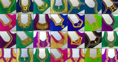 Patch Work Blouse Designs