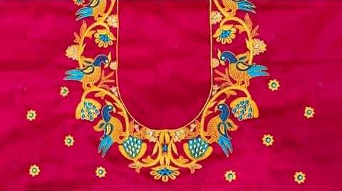Computer embroidery blouse designs – Blouse designs