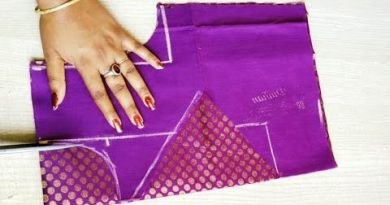 Boat neck blouse design cutting and stitching – Blouse Designs
