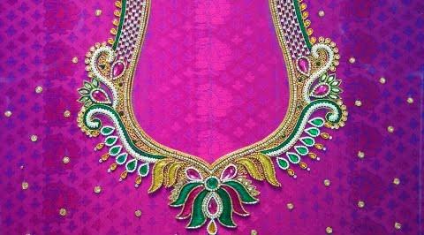 maggam work designs/new maggam blouse designs – Blouse Designs