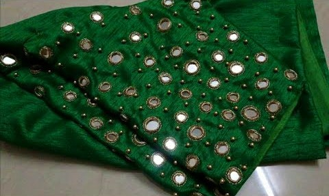 latest mirror work blouses designs – Blouse Designs