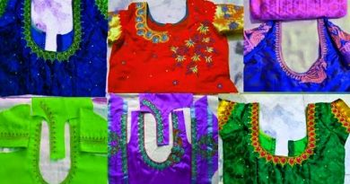 Latest Computer Embroidery Designs – Blouse Designs