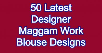 Latest Maggam work Blouse Designs | Bridal Blouses | Aari work Blouses  – Blouse Designs
