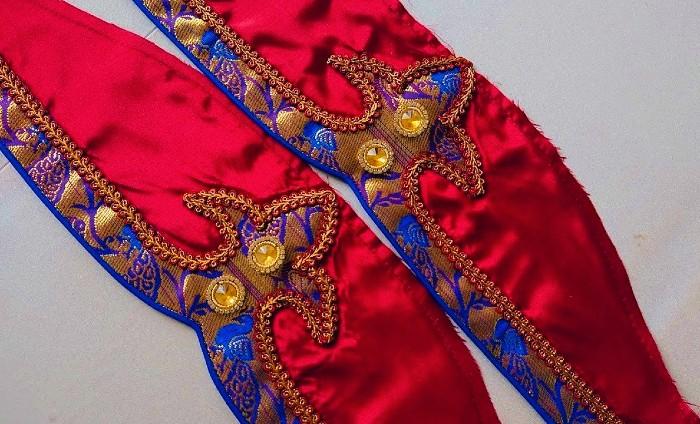 Paithani saree sleeve design|simple method of saree border sleeve design – Blouse Designs