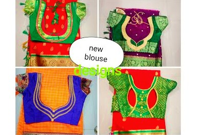 Beautiful and Easy Back Neck Blouse Designs – Blouse Designs
