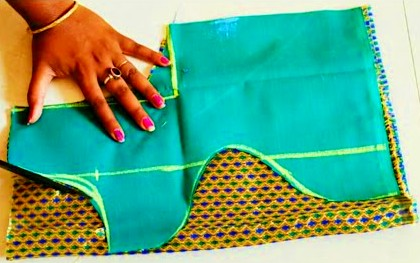 Boat neck blouse design cutting and stitching /model blouse design – Blouse Designs