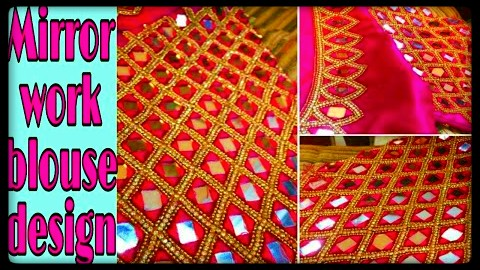 Mirror Work Designer Blouse Designs Latest – Blouse Designs