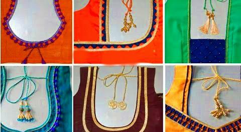 Latest Patch work blouse designs designer – Blouse Designs