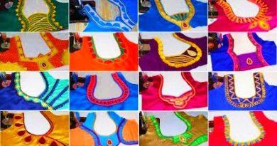 75 Easy Blouse Back Neck Designs Images – Blouse Designs