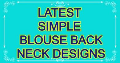 Latest blouse back neck designs / Beautiful blouse back neck designs photos – Blouse Designs