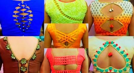 New Latest Blouse Designs    beautiful Blouse back neck designs – Blouse Designs