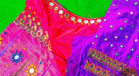 Hand Embroidery Blouse Designs – Blouse Designs
