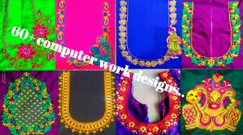 Latest Computer Work Blouse Designs – Blouse Designs
