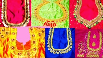 Latest Bridal Maggam Work Blouse Designs – Blouse Designs