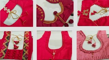 Very Easy and Beautiful Back Neck Blouse Designs – Blouse Designs