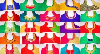 New Latest Paithani Saree Blouse Back Neck Designs – Blouse Designs