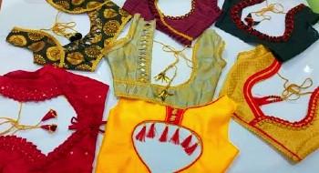 Designer Saree Blouse Back Neck Designs – Blouse Designs