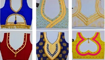 Designer Patch Work Blouse Designs – Blouse Designs