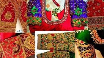 Latest Sleeves Designs for Sarees / Bridal Designs – Blouse Designs