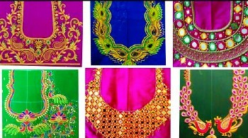 Computer Embroidery Latest Maggam Work Blouse Designs – Blouse Designs