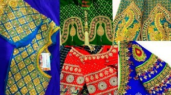 Latest Maggam Work Blouse Designs  Designer – Blouse Designs