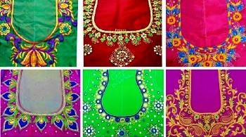 Aari Computer Embroidery Maggam Work Blouse Designs – Blouse Designs