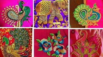 Aari  Maggam Work Peacock Embroidery Designs – Blouse Designs