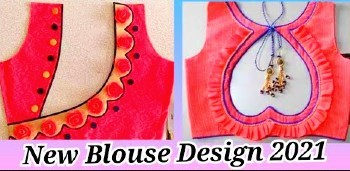 New Silk Saree  Blouse Back Neck Designs Designer – Blouse Designs