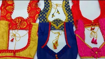Very Beautiful New Latest Back Neck Blouse Designs – Blouse Designs