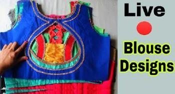Top 20 Latest Blouse Back Neck Designs – Blouse Designs