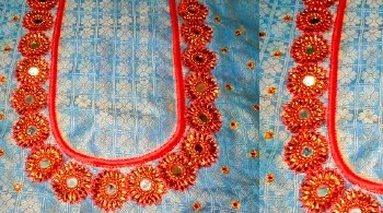 New Latest Mirror  Work Blouse Designs – Blouse Designs