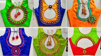 Beautiful Latest New Blouse Designs / Gala Back Neck Blouse Designs – Blouse Designs