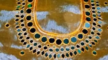 New Mirror Work Blouse Back Neck Design – Blouse Designs