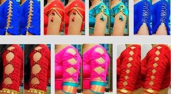 Beautiful New Latest Sleeves Designs – Blouse Designs