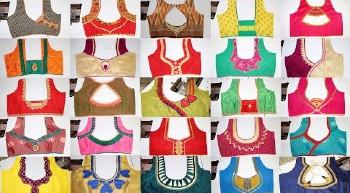 2021 Best Simple Blouse Back Neck Designs – Blouse Designs