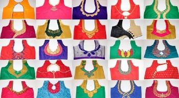 Best Simple Blouse Back Neck Designs Designer  – Blouse Designs