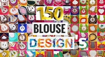 Latest Fashionable Designer Back Neck Blouse Designs – Blouse Designs